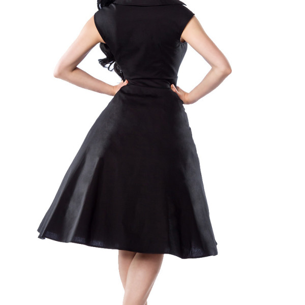 the best attitude e8f21 daef2 Vestitino donna Rockabilly Dress nero-12323